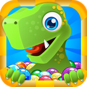 Bubble Shooter : Dino Rescue icon