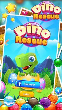 Bubble Shooter : Dino Rescue poster