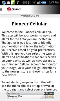 Pioneer Cellular poster