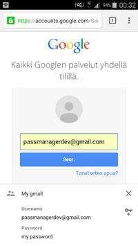 Password Keeper apk screenshot