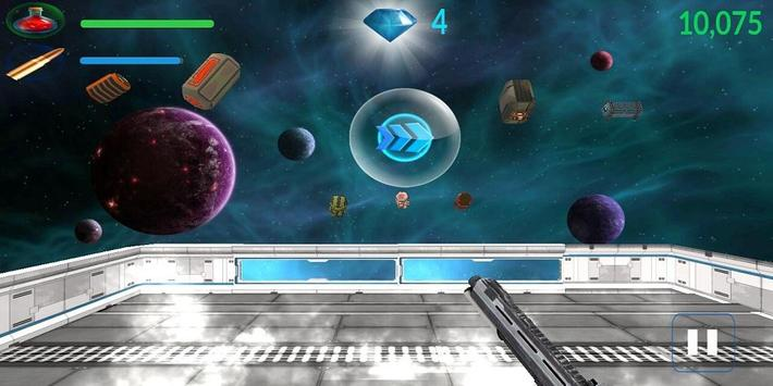 Objects Shooter in Space 3D apk screenshot