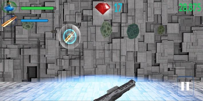 Stones Firing 3D: Rock Shooter apk screenshot