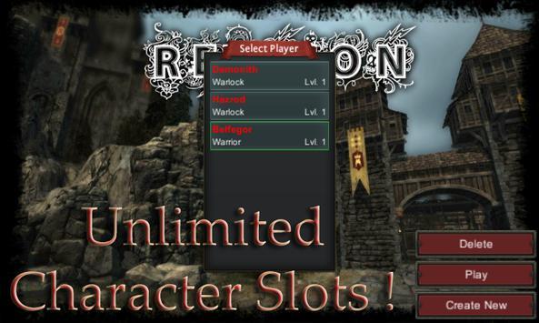 The Reunion Online apk screenshot