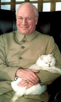 Dick Cheney cat Live WP poster