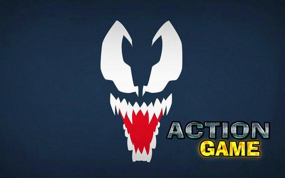 Dark Venom Vs  anti venom City poster