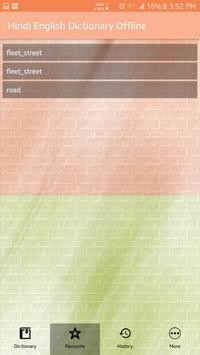 Hindi Eng Dictionary Offline capture d'écran 3
