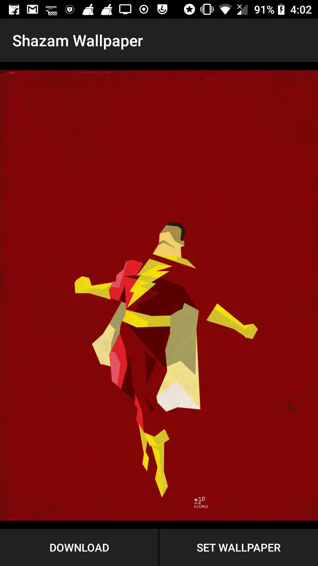 Shazam Superhero Wallpaper Hd 4k Backgrounds For Android