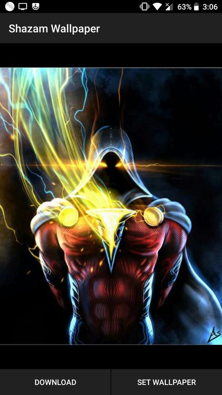 Shazam Superhero Wallpaper Hd |4K Backgrounds for Android ...