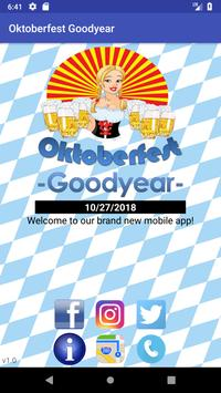 Oktoberfest Goodyear poster