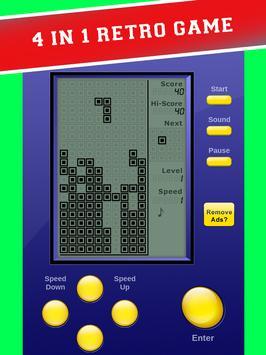 Retro Rush: Brick Games apk screenshot