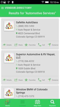 Vendor Directory screenshot 2