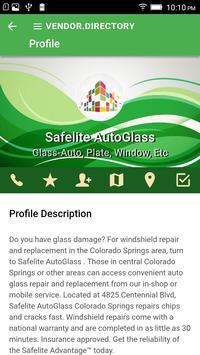 Vendor Directory screenshot 3
