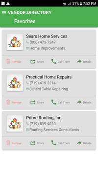 Vendor Directory screenshot 6
