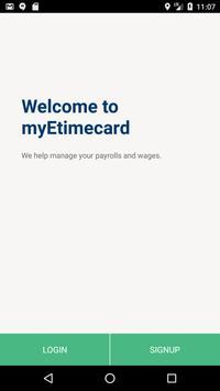 myEtimecard poster
