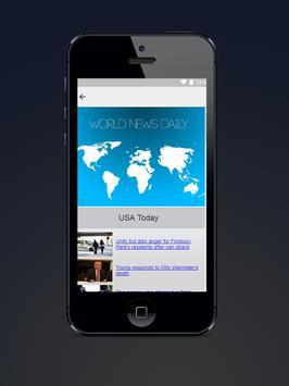 World news daily screenshot 2