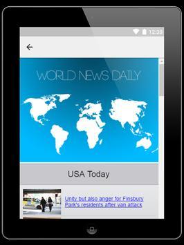 World news daily screenshot 3
