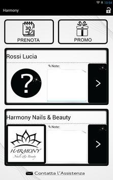 Harmony Nails & Beauty apk screenshot