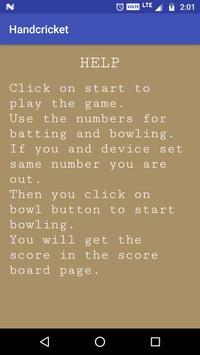 Hand Cricket screenshot 5