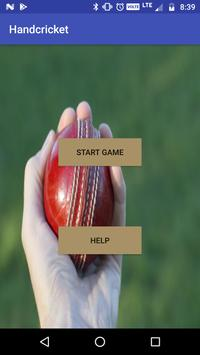 Hand Cricket poster