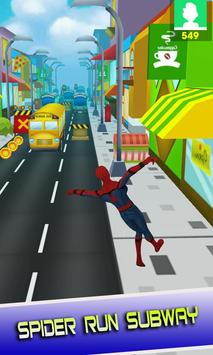 Adventure Spider Battle Heroes City screenshot 1