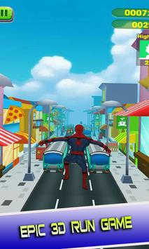 Adventure Spider Battle Heroes City screenshot 2