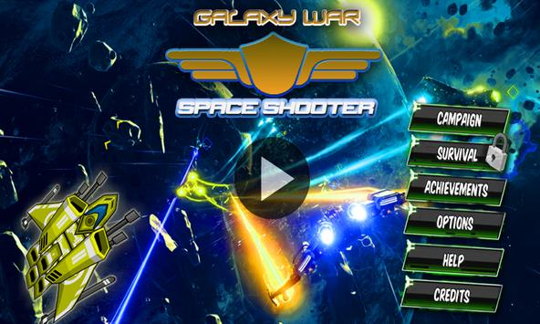 Galaxy War -Squad shooter poster