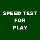 Speed Test for PLAY icon