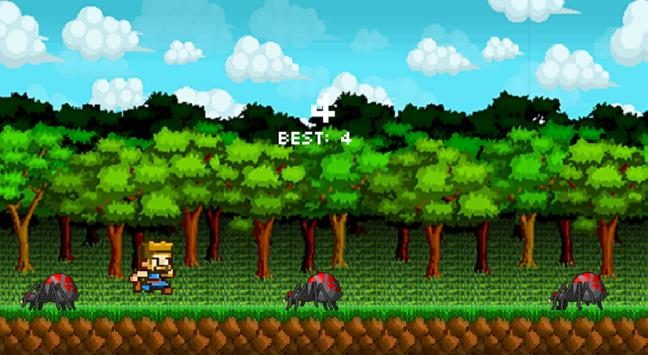 Spider Jump Game screenshot 3
