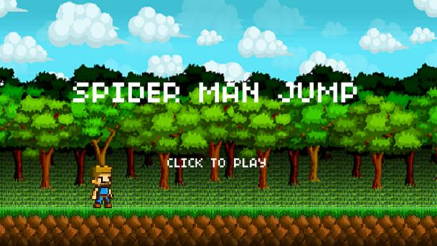 Spider Jump Game screenshot 2