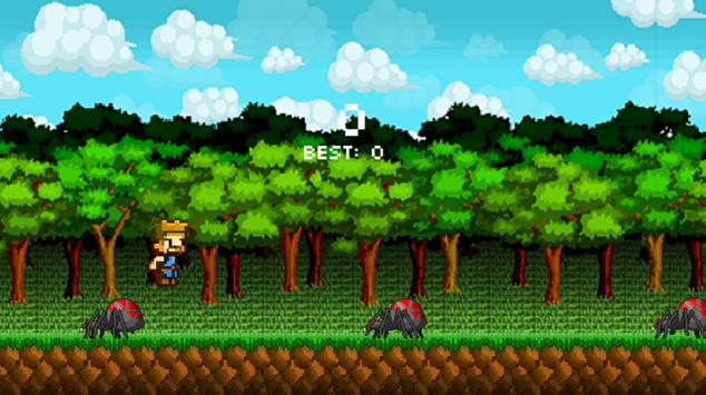 Spider Jump Game screenshot 4