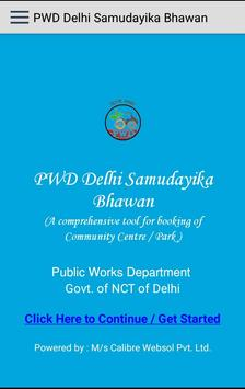 PWD Delhi Samudayika Bhawan poster