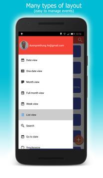 CalendarDC: Google Calendar sync and more apk screenshot
