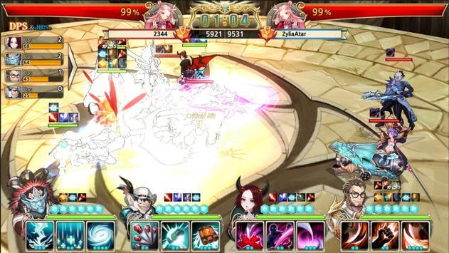 King's Raid apk zrzut ekranu
