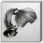 Drawing Realistic Hair icon