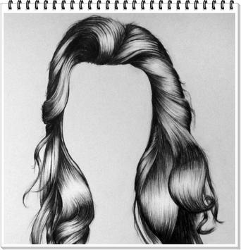 Drawing Realistic Hair poster