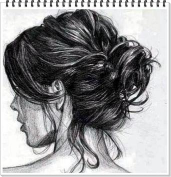 Drawing Realistic Hair screenshot 10