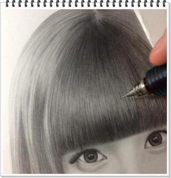 Drawing Realistic Hair screenshot 1