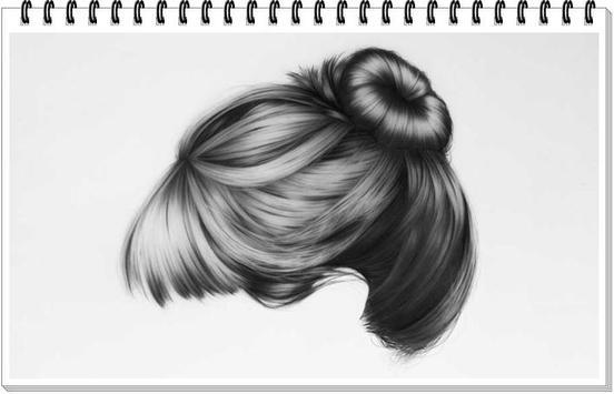 Drawing Realistic Hair screenshot 3