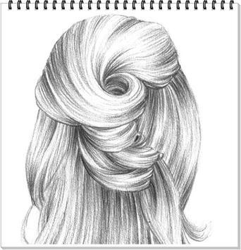 Drawing Realistic Hair screenshot 4