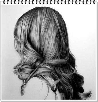 Drawing Realistic Hair screenshot 5
