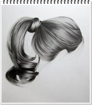 Drawing Realistic Hair screenshot 7