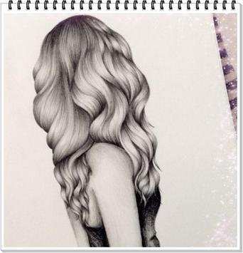 Drawing Realistic Hair screenshot 8