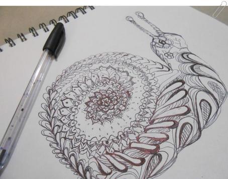 drawing zentangle art screenshot 1