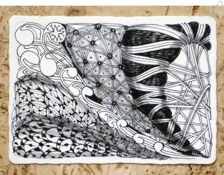 drawing zentangle art screenshot 7