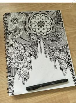drawing zentangle art screenshot 5