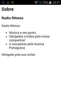 Radio Ritmos Portugal screenshot 2