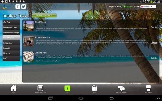 Travel@app apk screenshot