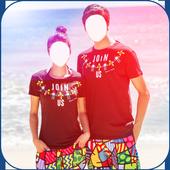 Honeymoon Couple Photo Suit icon