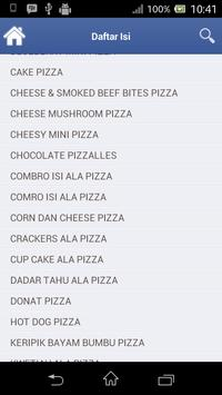 RESEP SERBA PIZZA apk screenshot