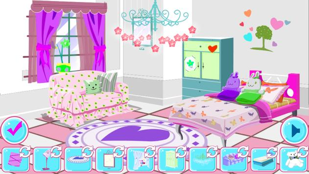 Room Decoration Girl New screenshot 2